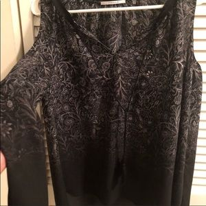 Absolutely Gorgeous Tahari Cold Shoulder LS NWOT